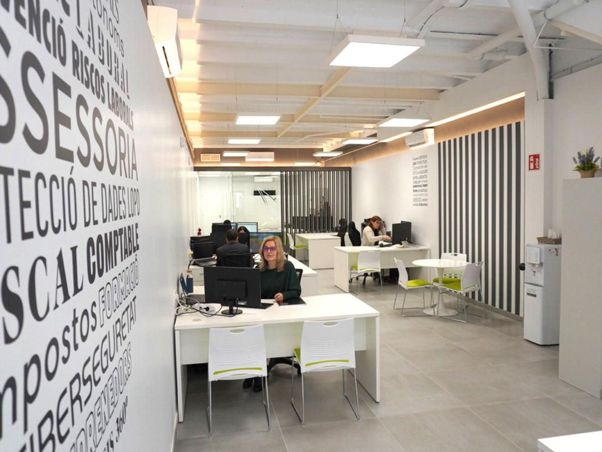 Oficinas Setemcat en Calella